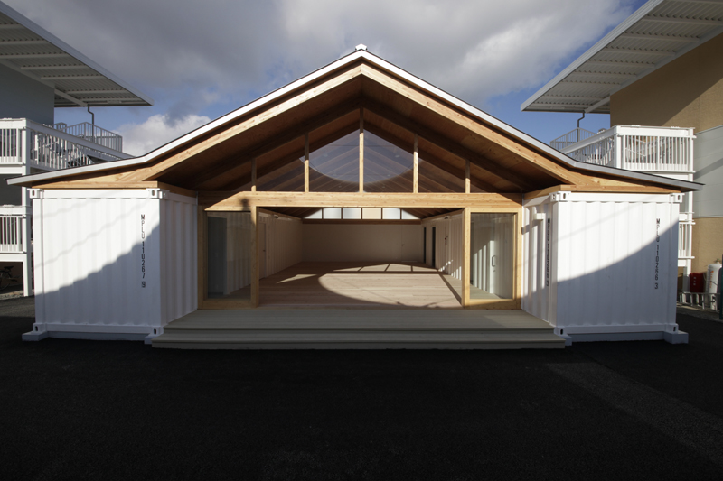 Container Temporary Housing Voluntary Architects Network