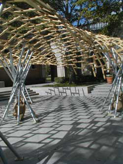 Sba Bamboo Roof Structure