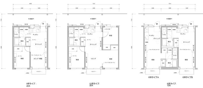 Furniture House Shigeru Ban Plan